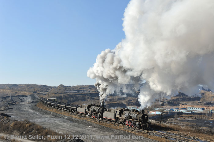 Winter Steam In China 2014 Sandoling Fuxin Pingzhuang