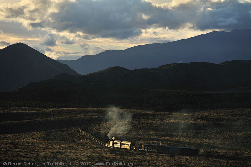 Railway photography in Argentina