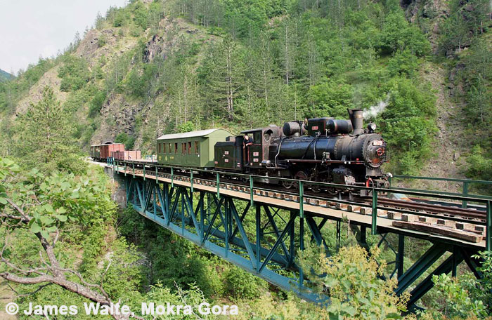 83 in Mokra Gora © James Waite
