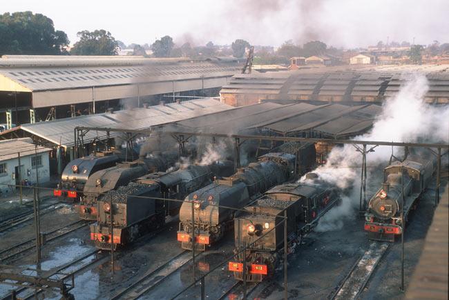 Elephants on rails zimbabwe 2007 for Depot kamen